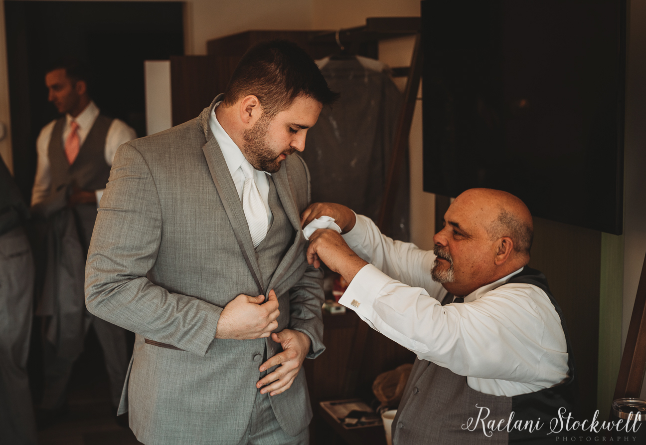 First Look Groom and Father Wedding Day Photography.jpg