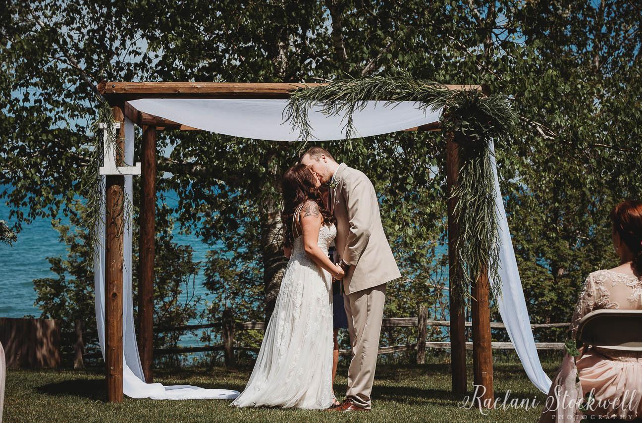 Sanilac County State Park Wedding Ceremony Lexington Mi.jpg