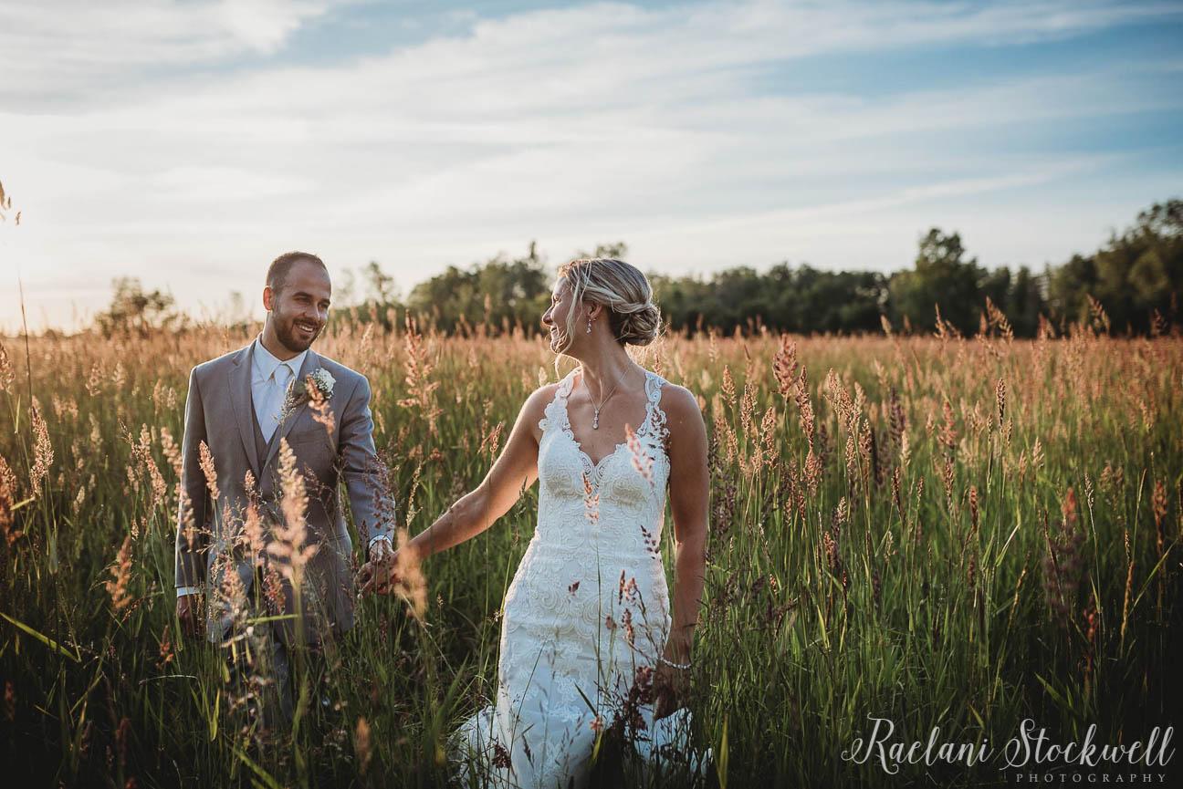 Natural Outdoor Wedding Portraits at Golden Hour.JPG