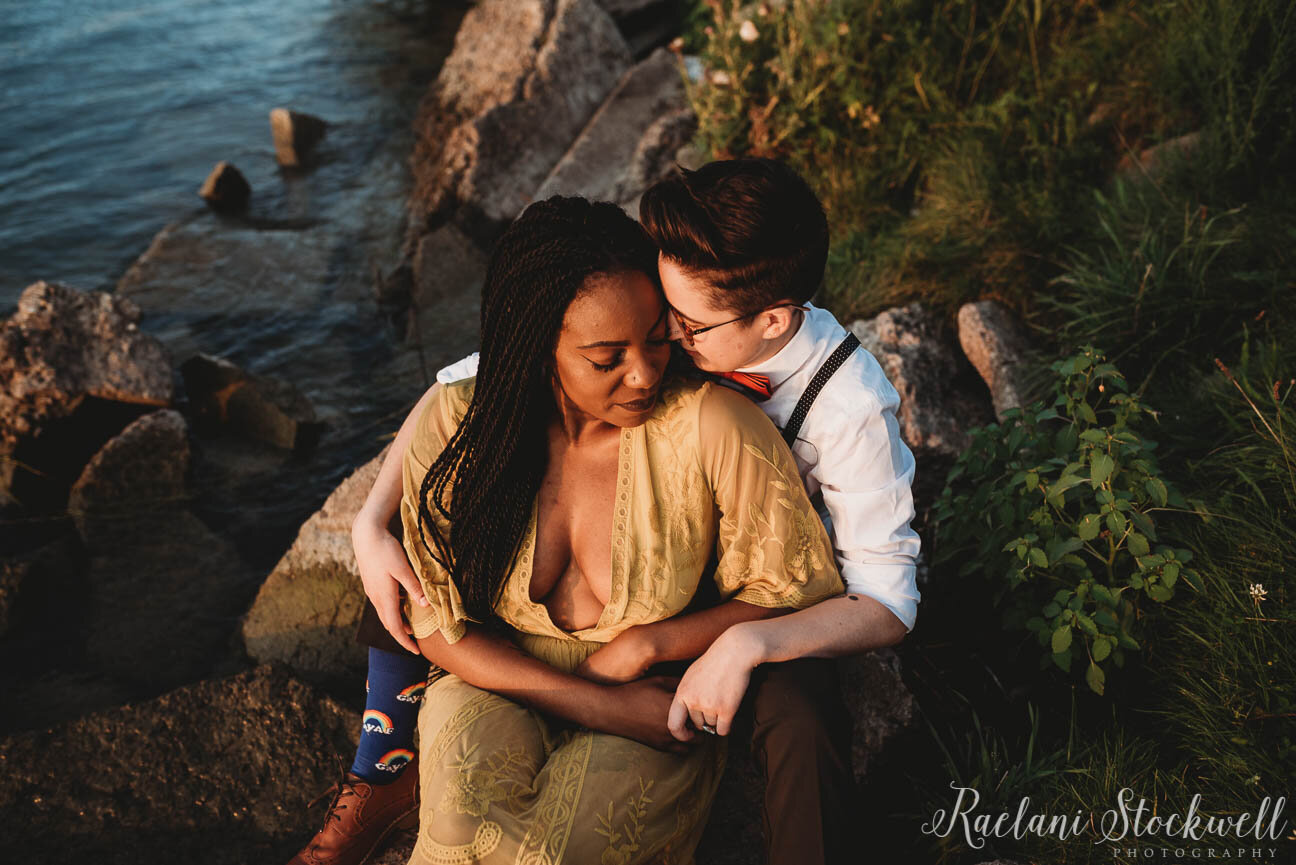 Sunset Couple Session by Detroit River.JPG