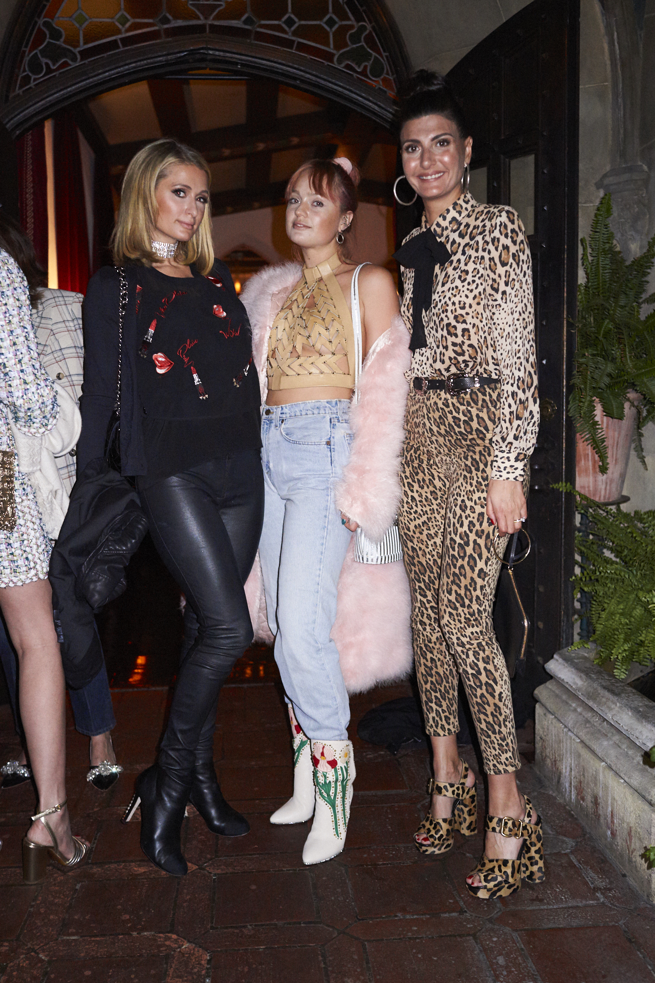 Paris Hilton, Brandy Howe, Giovanna Battaglia Engelbert.jpg