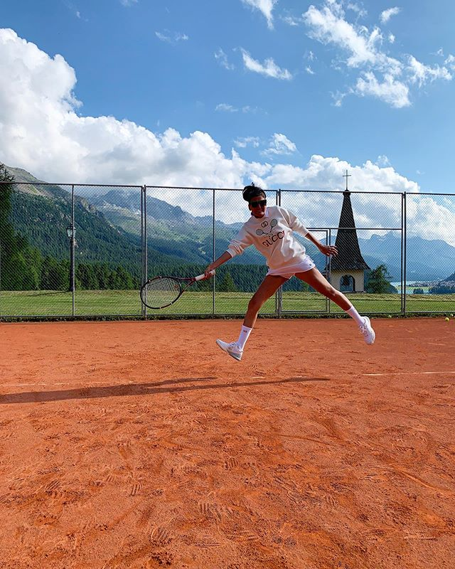 🎾  the view was  better than my forehand
