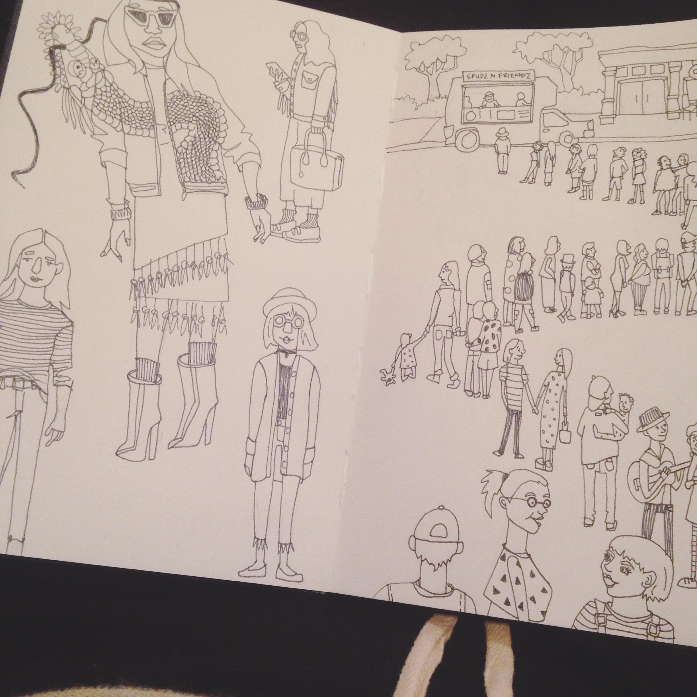 From my sketchbook//