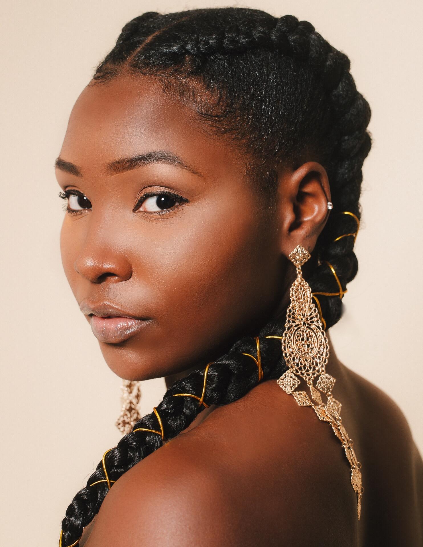Beauty Shots w/ model @foshposh