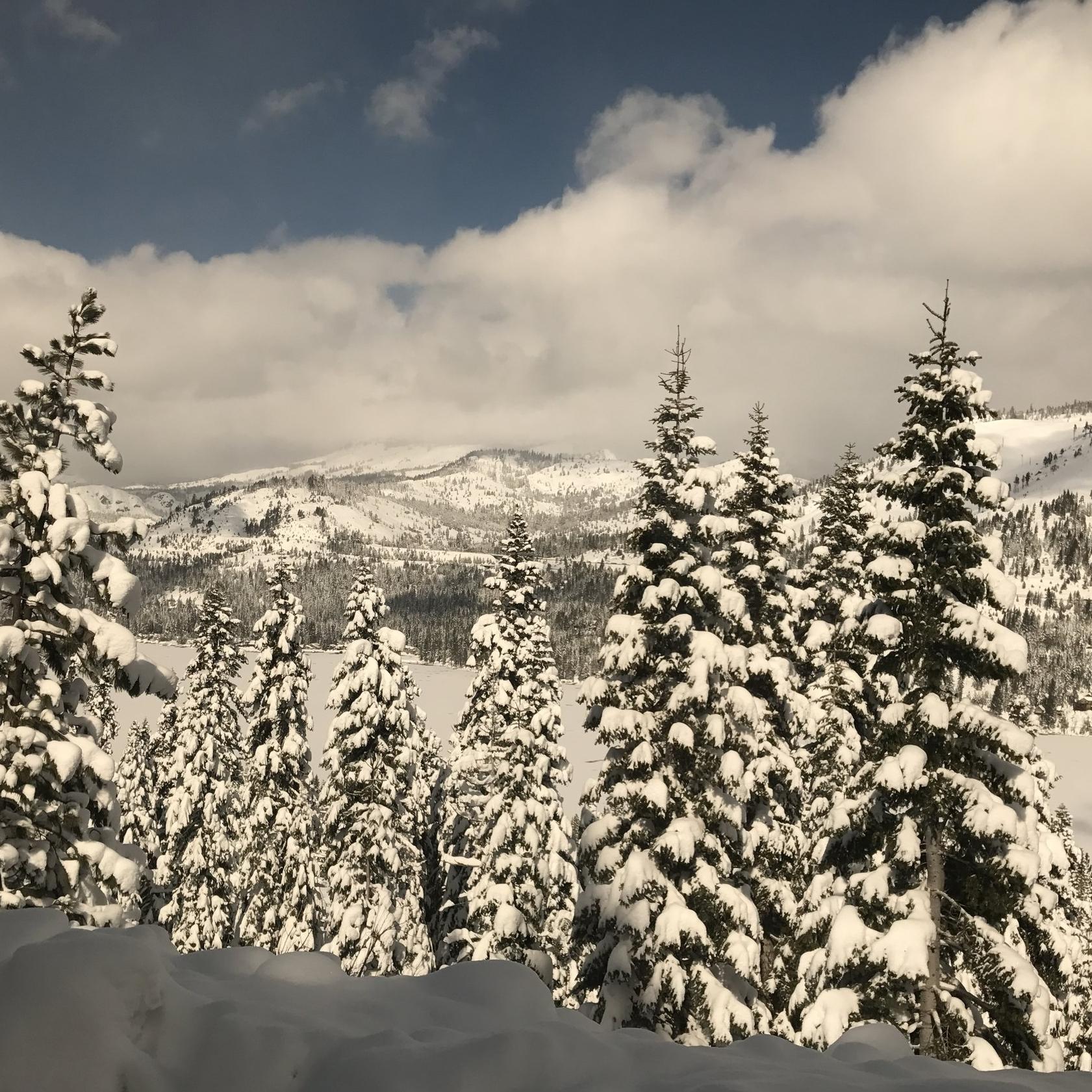 Going through the Sierra Nevadas.