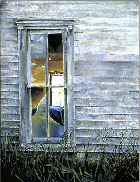 Window Within  Jason Witte Oil on Canvas, 24 x 36 inches