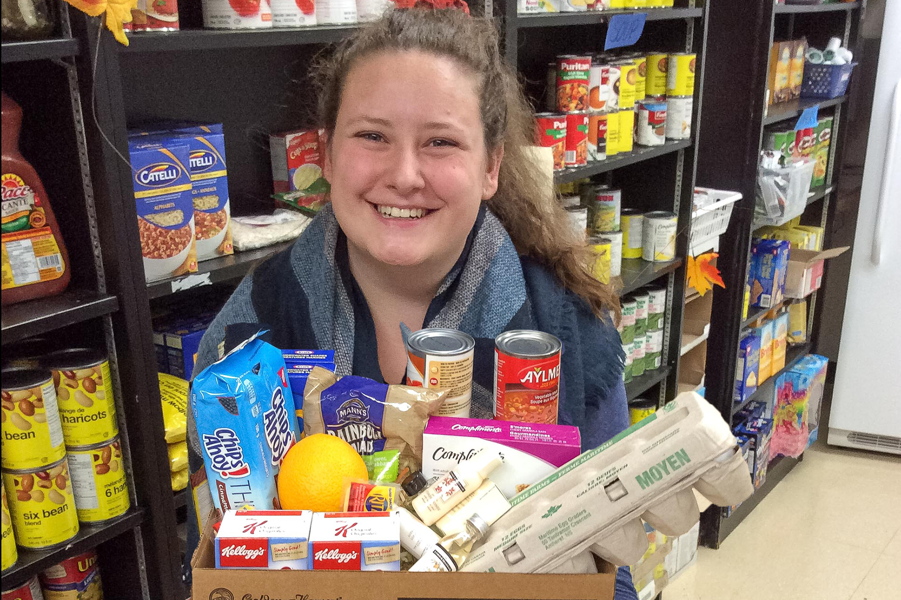 Student Food Resource Centre - Running short on food? Don't stress- stop by and stock up on food and resources. Located through the back of Mackinnon Hall, our free, confidential, food service is open Monday - Saturday afternoons. Come check us out!