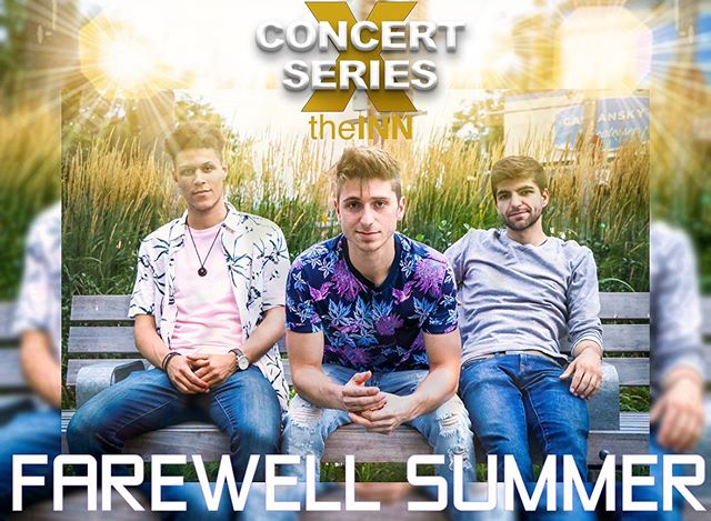 """Headliner 2/2 for tomorrow's FIRST show of the concert series: FAREWELL SUMMER! """"Farewell Summer is an Indie-Pop band from Toronto led by vocalist, guitarist and producer Joey Tyler. Farewell Summer released their debut EP """"Moments"""" in September 2017. Self-Written and Produced, """"Moments EP"""" achieved radio play across Canada and accumulated 30,000 streams across streaming platforms.  Farewell Summer, embarked on a National Canadian Tour with Non-Profit organization Live Different spanning over 4-months, 76 shows. Being a passionate advocate for positive change, leader, Joey Tyler actively seeks opportunities to deliver his music in a way that will impact Canadian youth.  As a result of the National Tour, there was an overwhelming response that lead to a strong following of inspired young fans looking to connect with the band and its message.  Farewell Summer creates an atmosphere that exuberates positivity, electronic hooks and heart-warming authenticity that leaves fans feeling heard and understood."""""""