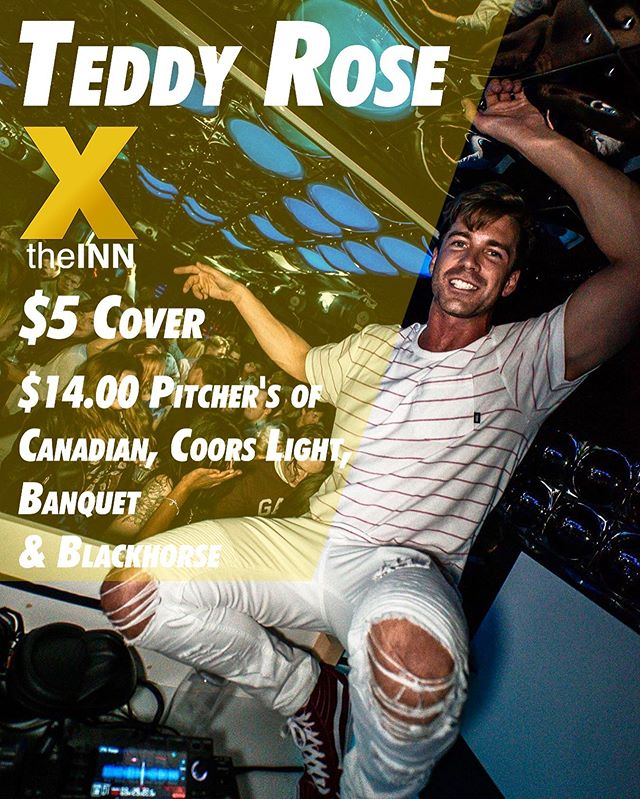 Wednesday! Wing Night! @teddyyrose & $5 Cover! See you there!!! #wingnight