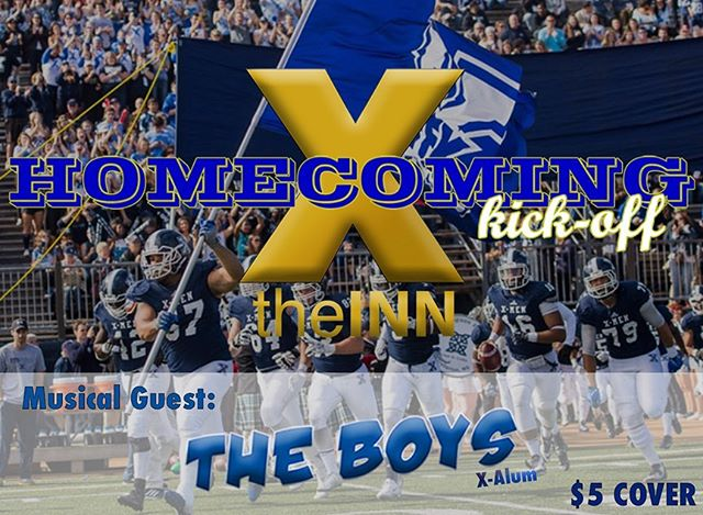 """Got Homecoming plans? Now you definitely do!  Come support our Men's Football Team Friday night, and make some memories after the game with """"The Boys""""! The fun doesn't stop there! Join us on Saturday to cheer on the Women's Rugby team, starting at 12:30pm!  Then, join us and hundreds of StFX Alumni at our legendary homecoming """"Alumni Night""""!"""