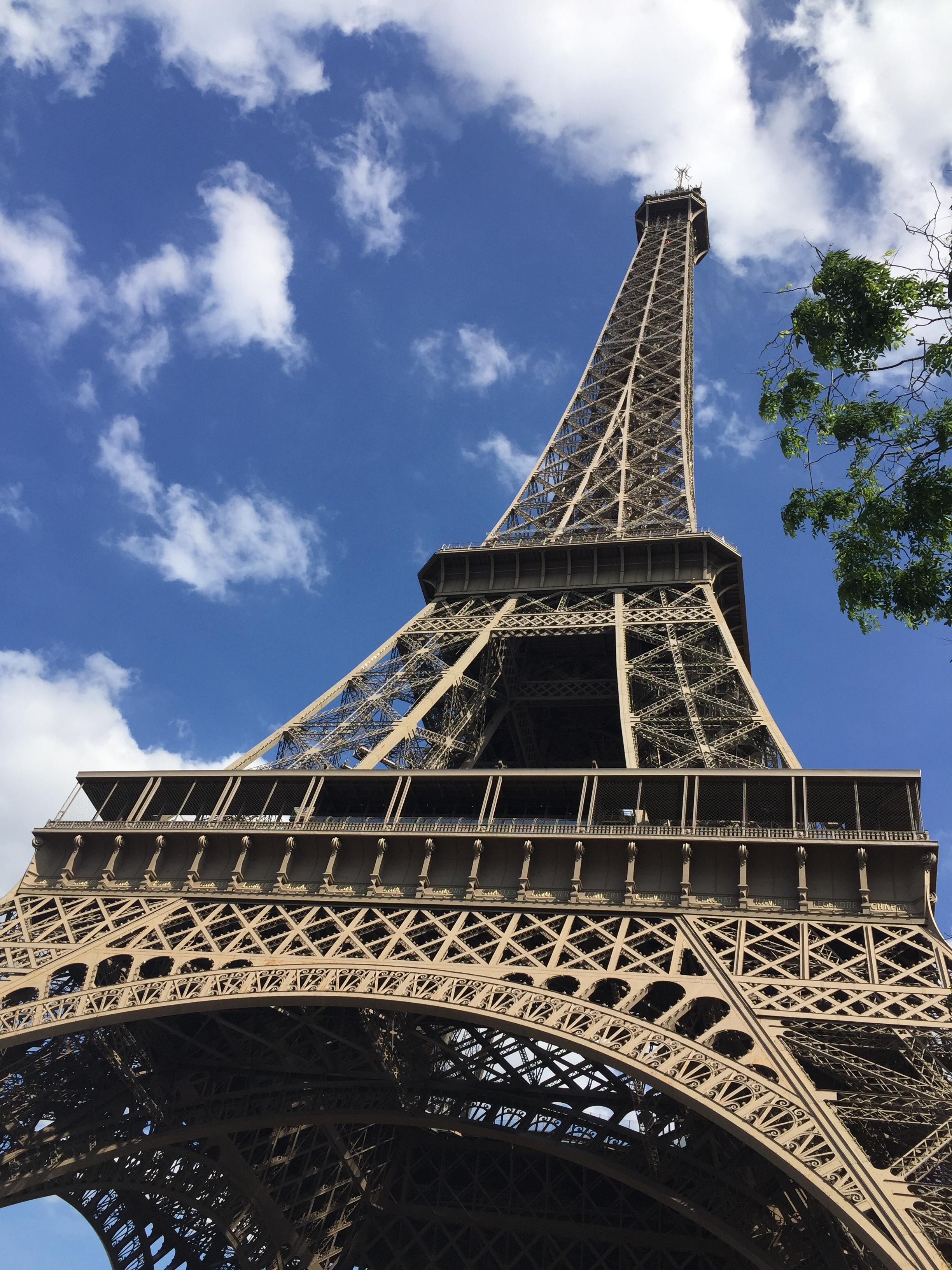 Gomez and I spent 4 hours lying under the Eiffel Tower, singing songs from Frozen, and stuffing ourselves with fresh bread and cheese.