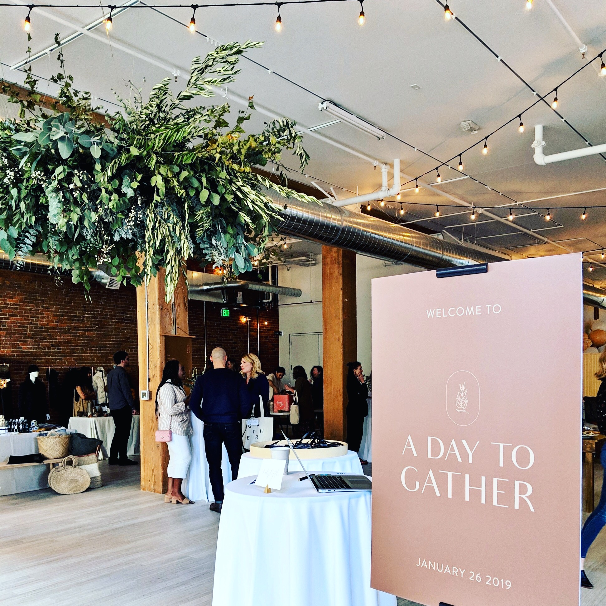 A photo from yesterday's Gather Seattle event. Photo: Alexandra Collins