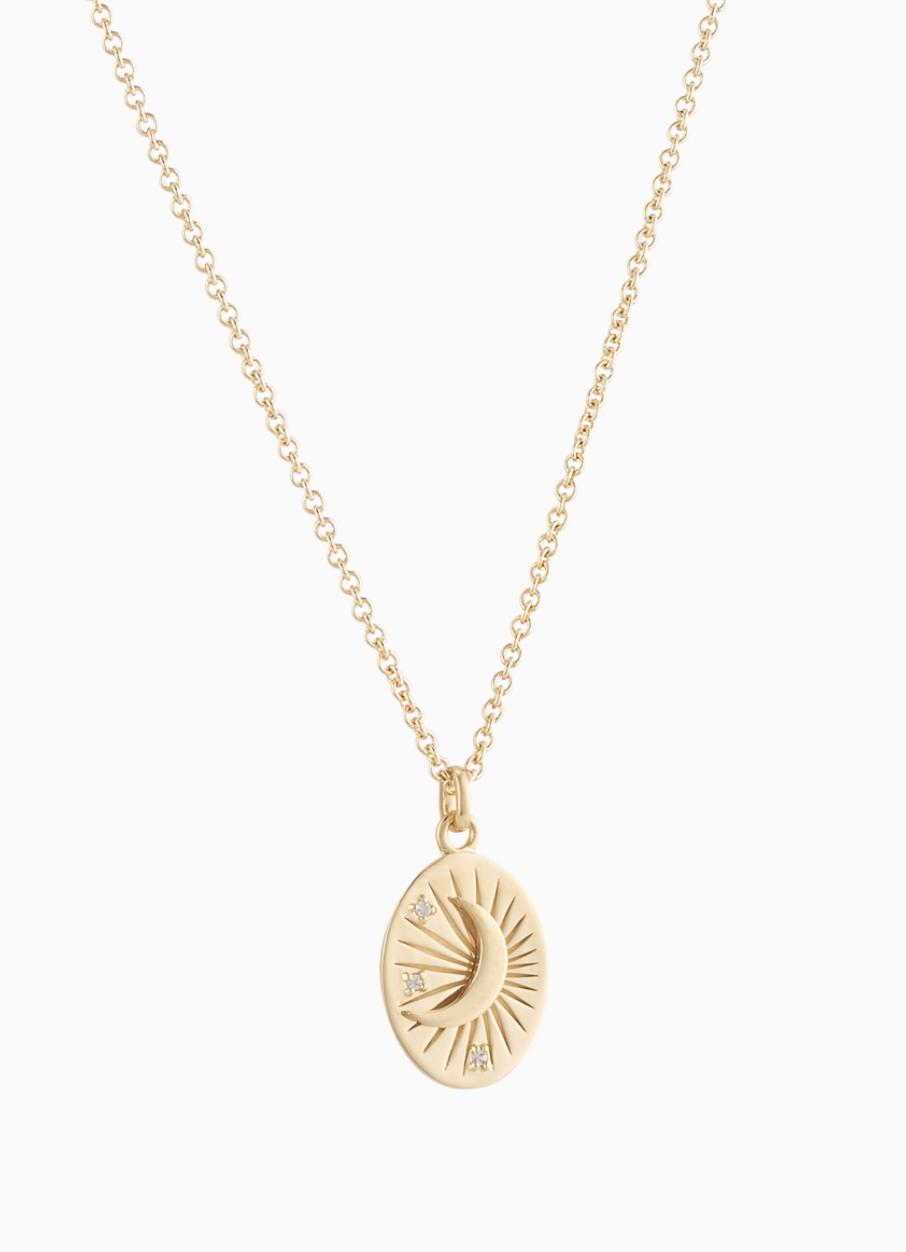 MEJURI  Moon Necklace