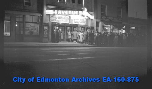 95 Street and Alberta Avenue 1938