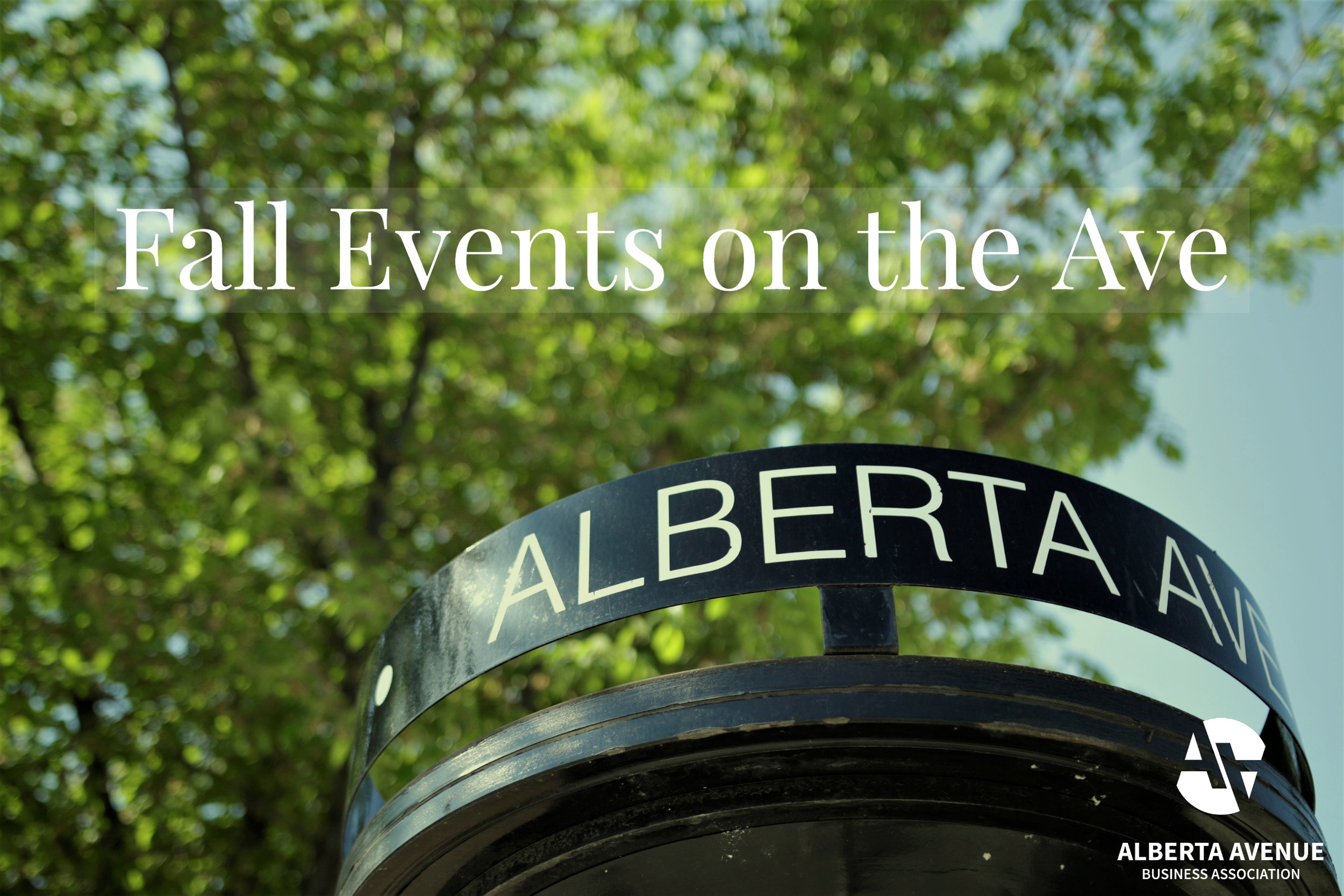 Backpacks and leaves on the ground...must be Fall!  The air is crisp and there is a whole slate of cool things to do coming up on Alberta Avenue. Put on your comfiest sweater and join us for some great times!