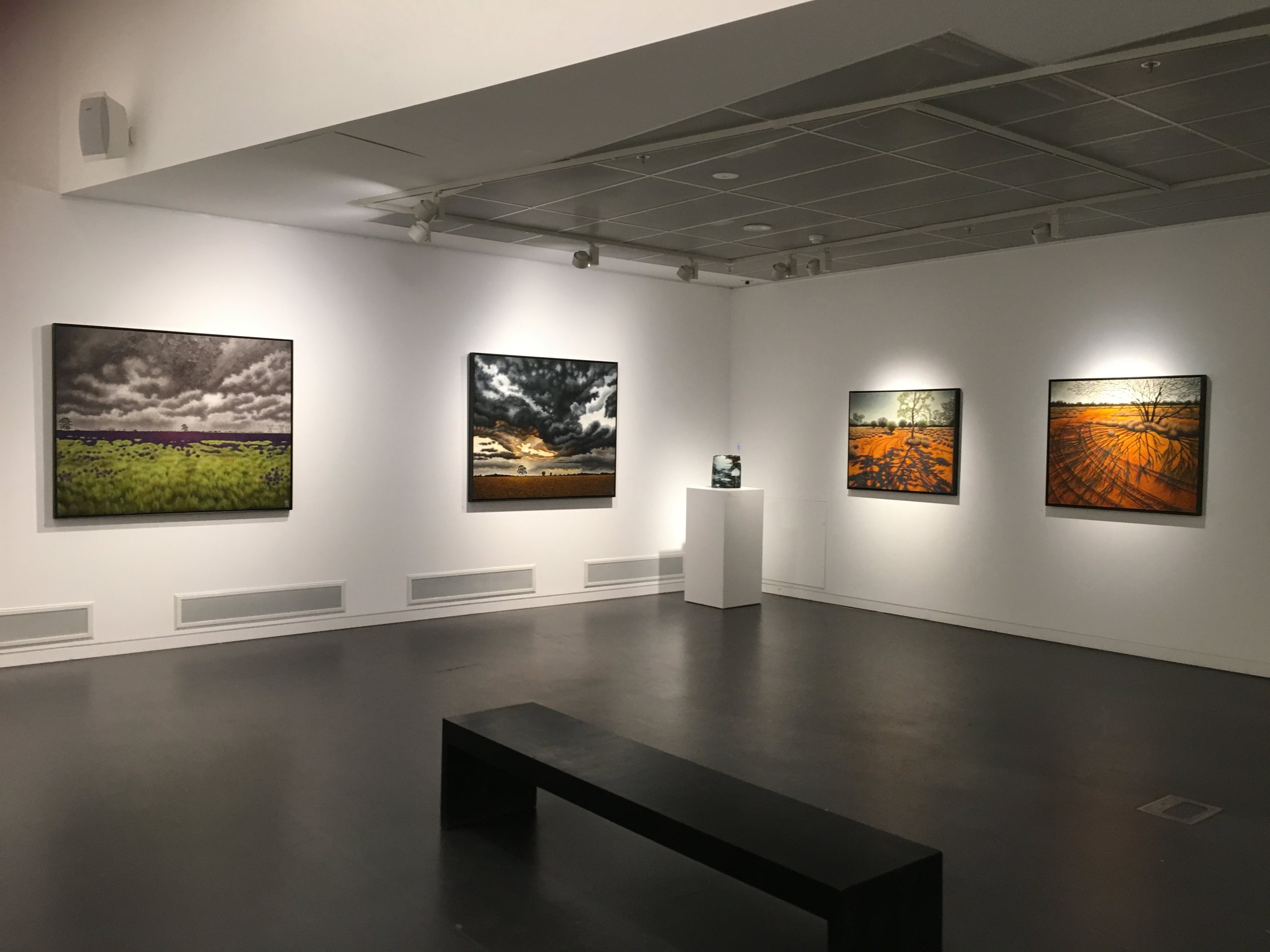 """full circle"", Manningham Art Gallery.Melbourne, 2018"