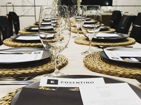 Custom planned corporate wine and food tasting event