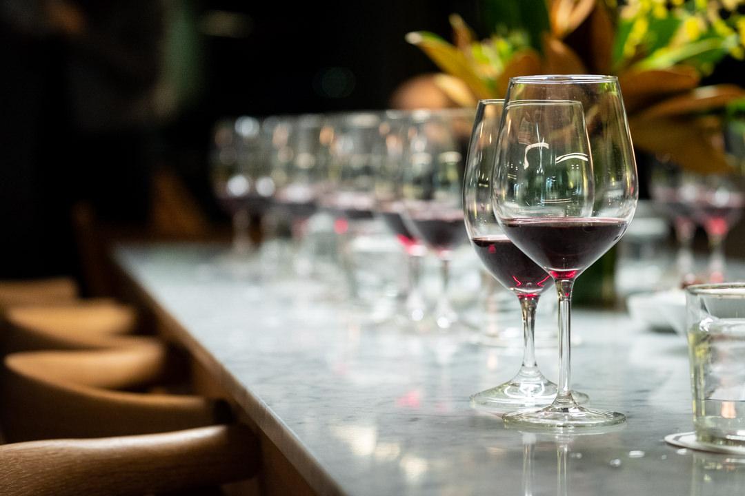 Bespoke corporate wine and food tasting event