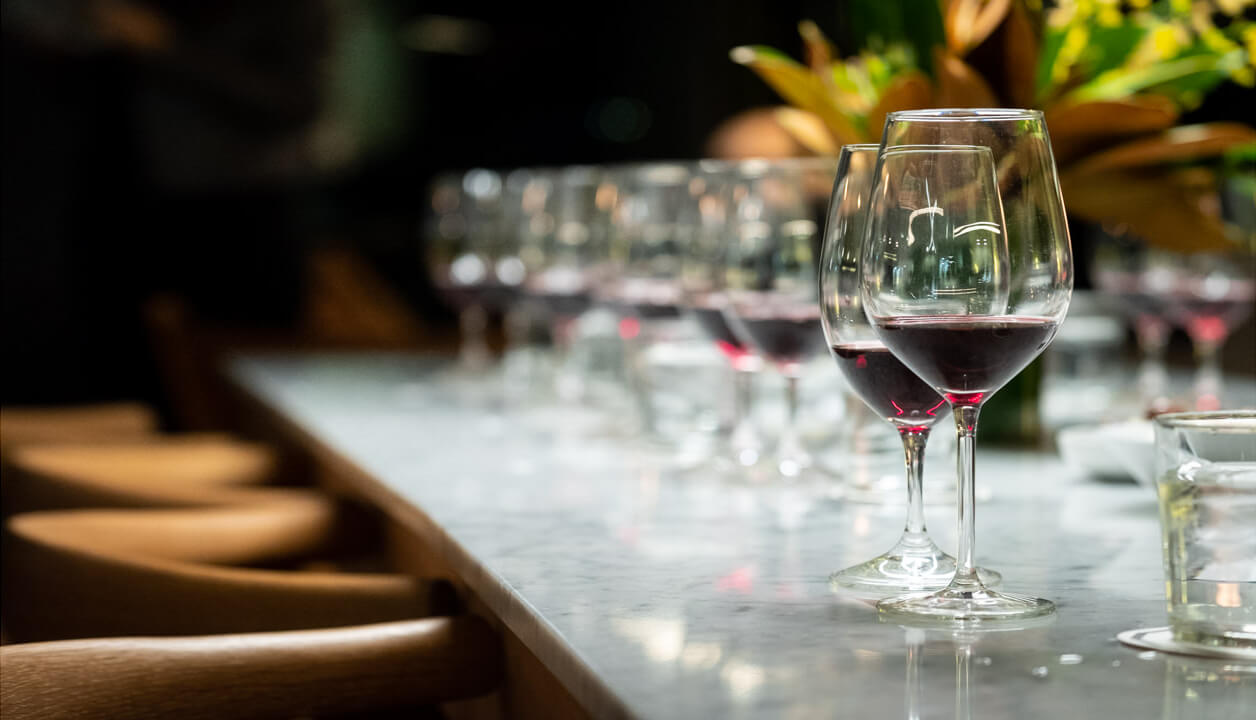 Corporate wine tasting in Sydney with matching food hosted by a winemaker and a chef.