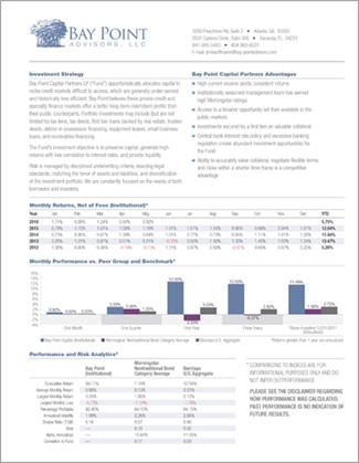 Bay Point Performance Summary