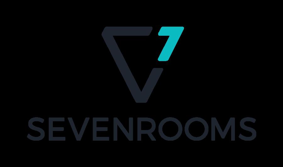 SevenRooms_LogoStack_CharcoalTurq.png