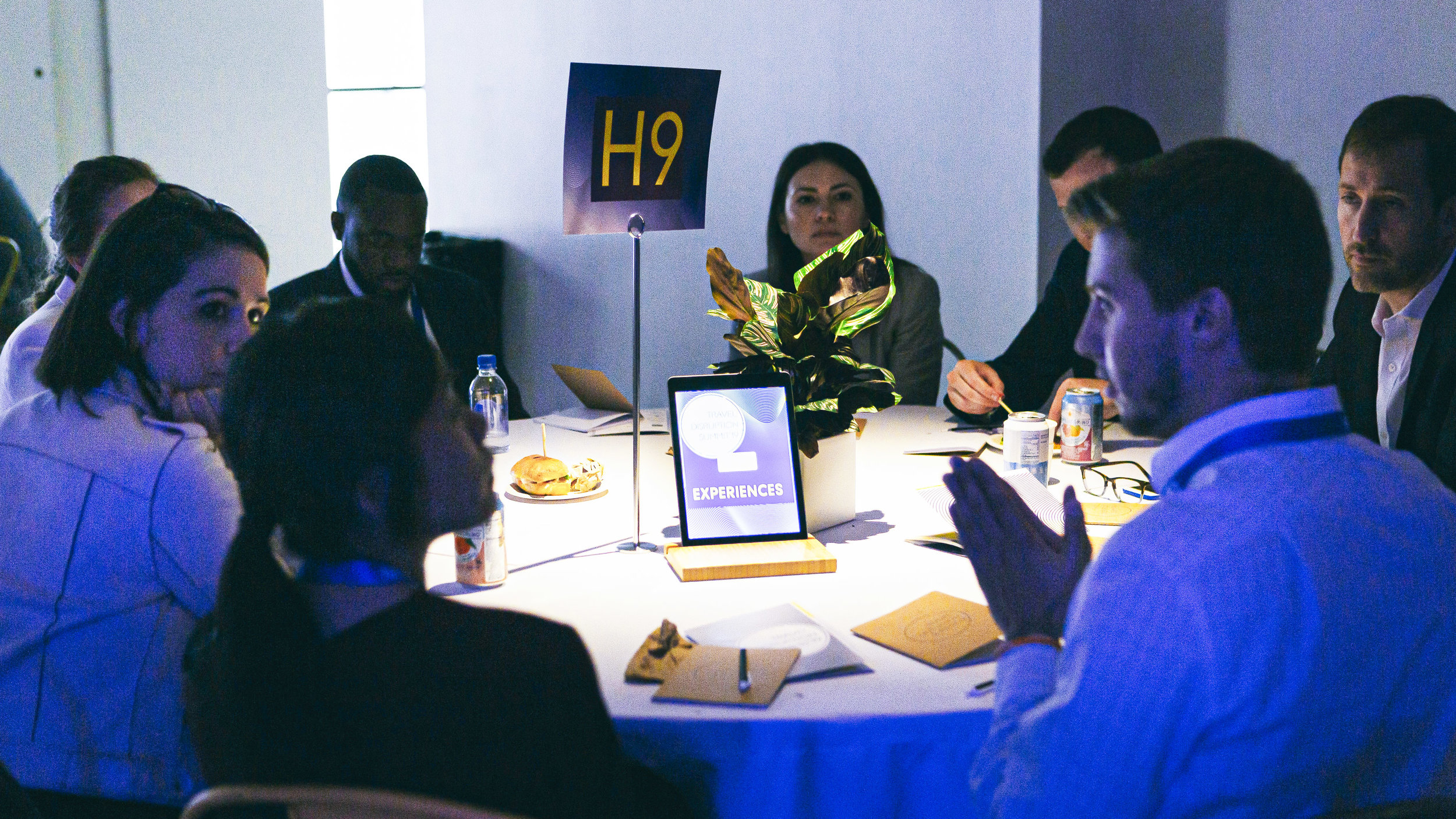 Attendees at the Hospitality: Guest Experiences roundtable at the 2019 Travel Disruption Summit