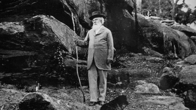 Henry Parkes, the early Australian statesman known for his thread-of-kinship notion of federation.