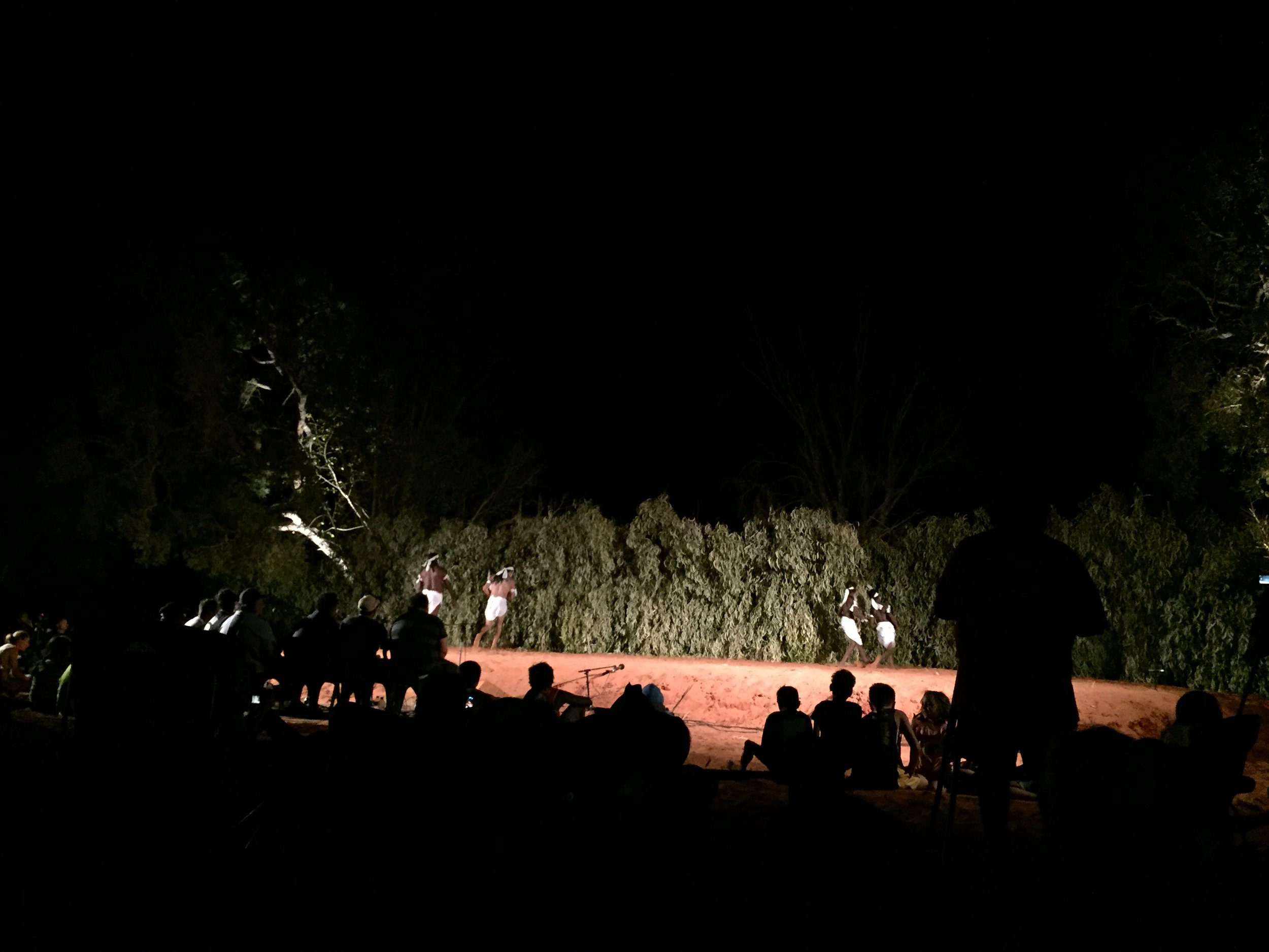 Dancers at the Kimberley Aboriginal Law and Culture Festival in Bardi country, north of Broome WA.