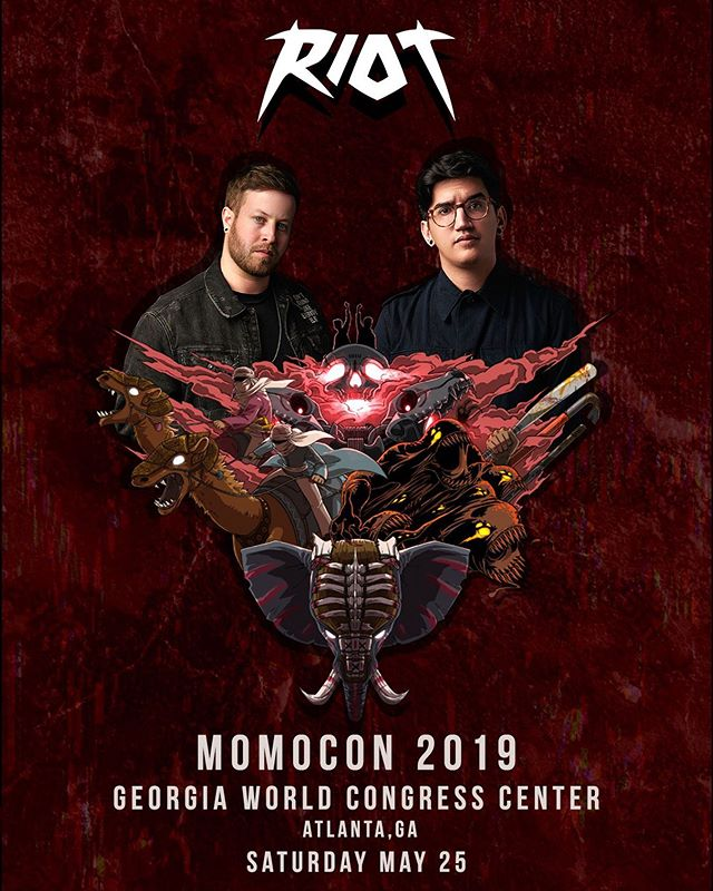 ATLANTA MOB ☠️ Playing @momocon alongside @pegboardnerds & @_callmegrant this Saturday, May 25th at the World Congress Center 🤘🏻 LET'S START A RIOT!