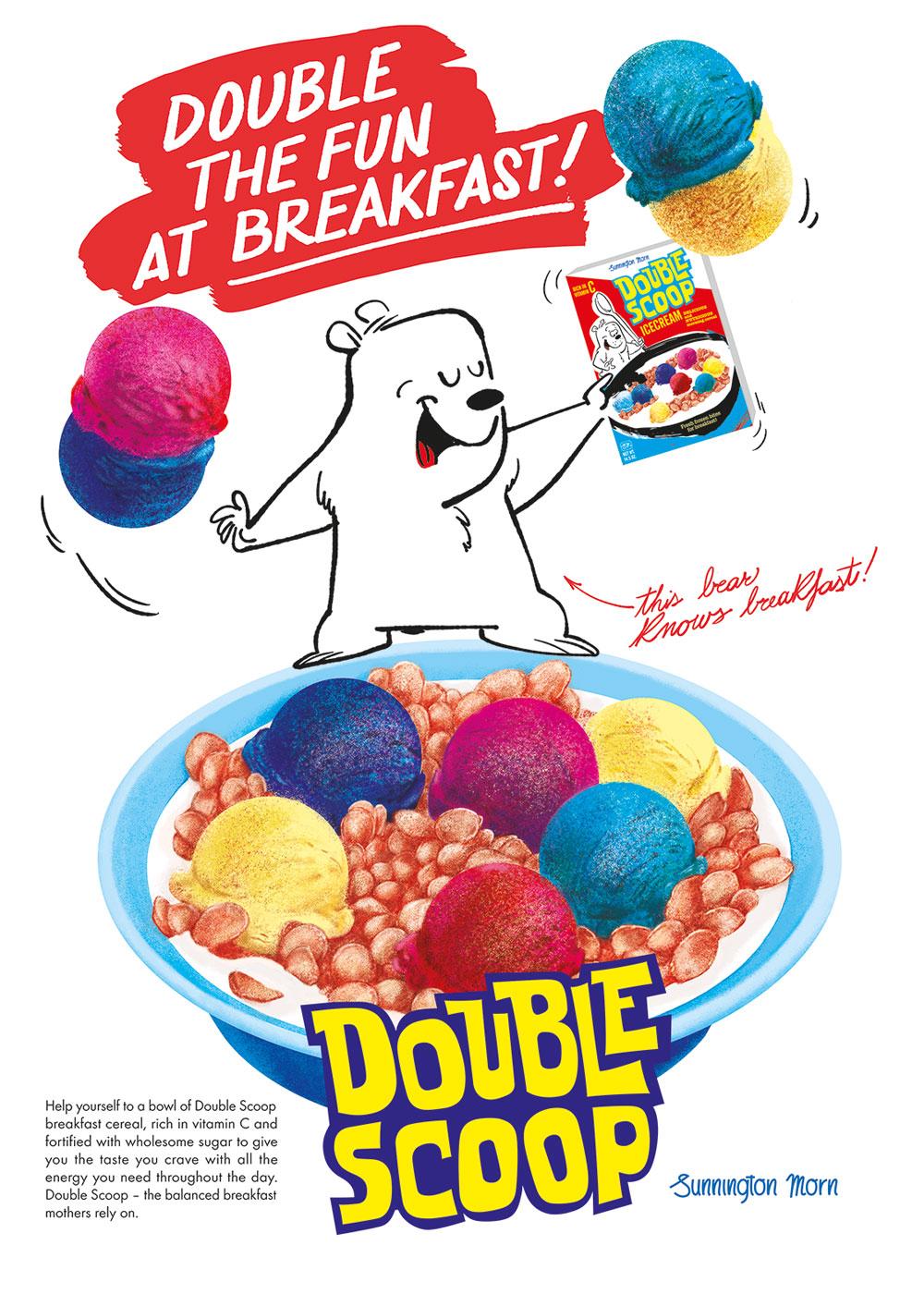 Double Scoop Advertisement
