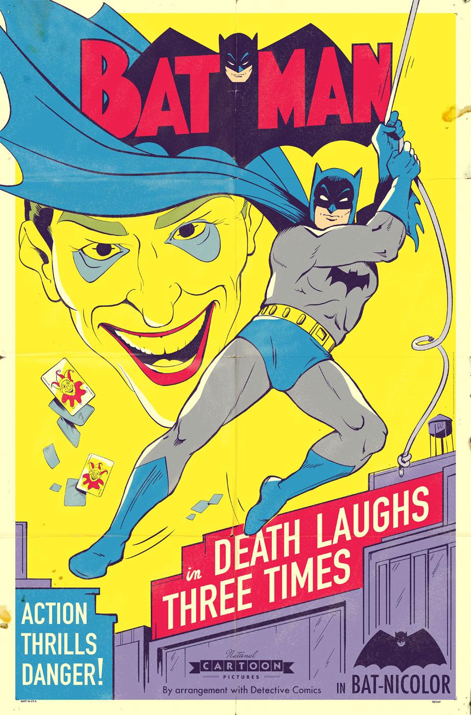 Batman Poster - Animated tv show