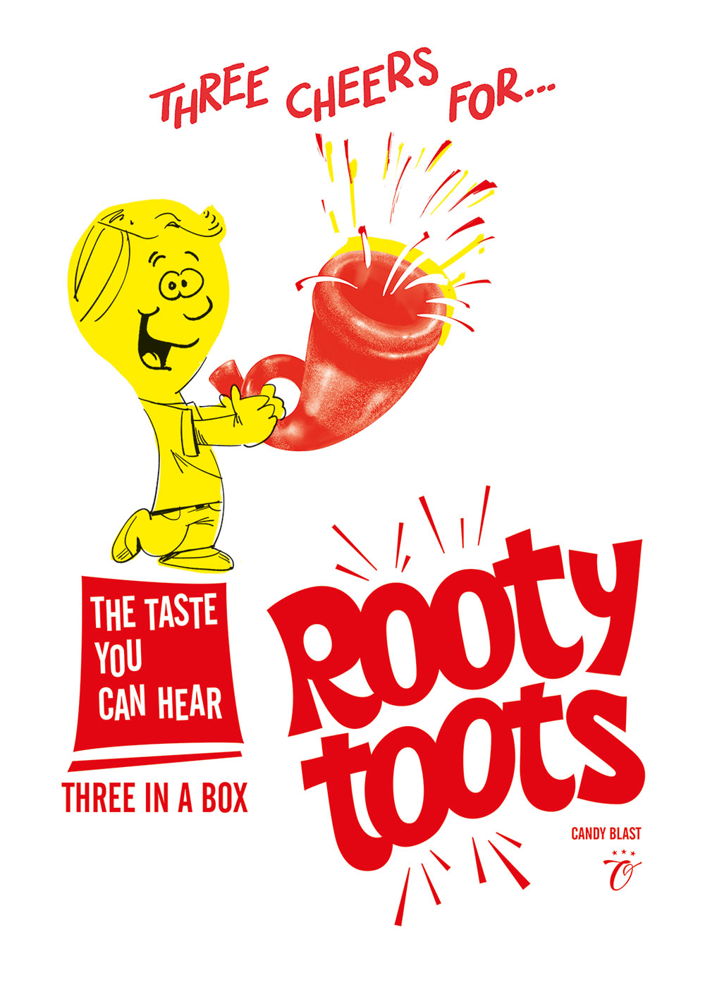 Rooty Toots candy - Advertisement