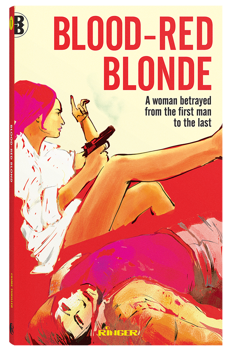 Blood-Red Blond - Book Packaging - Ringer Publishing