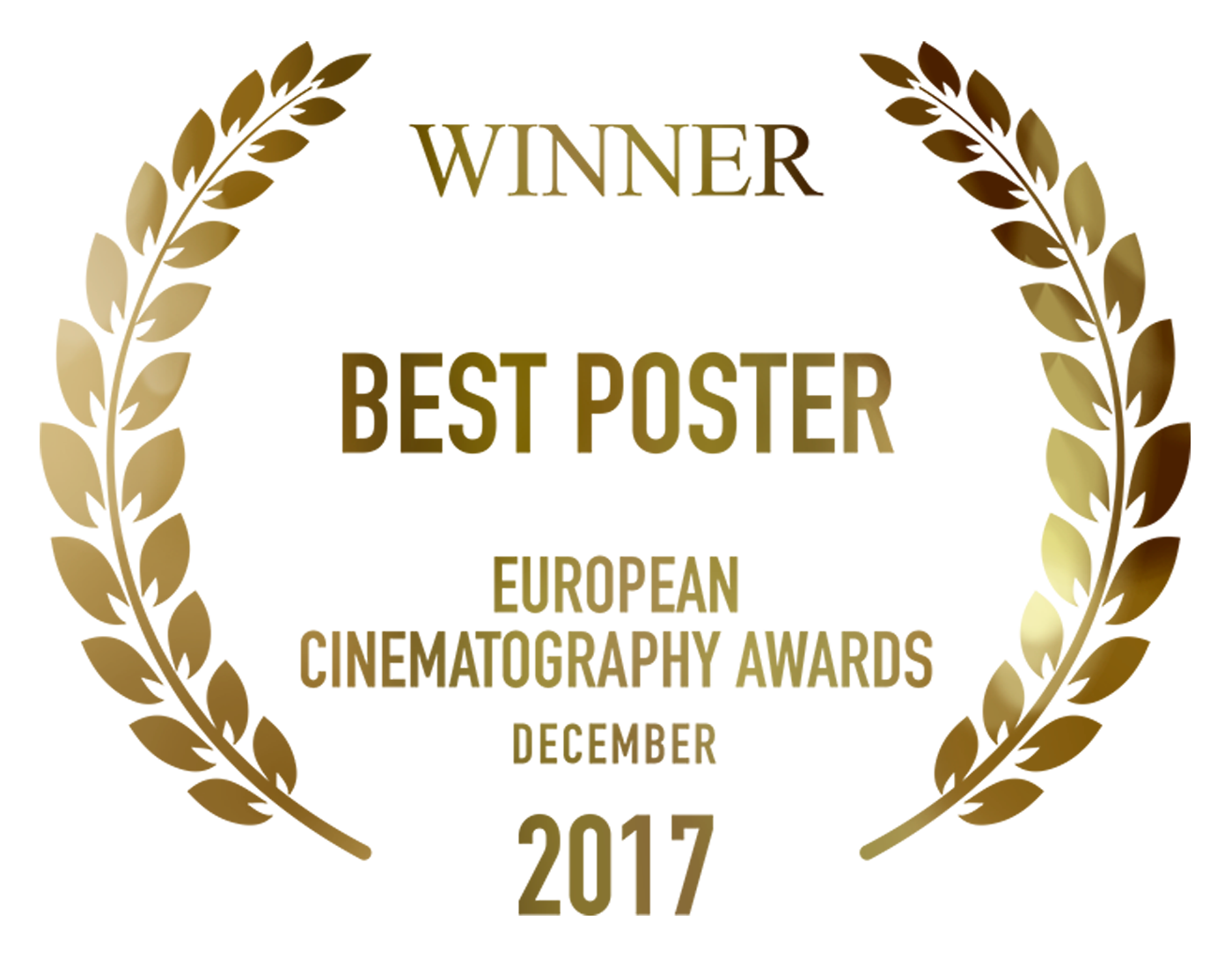 Fragments Winner Best Poster European Cinematography Awards design by Cesare Asaro 2017