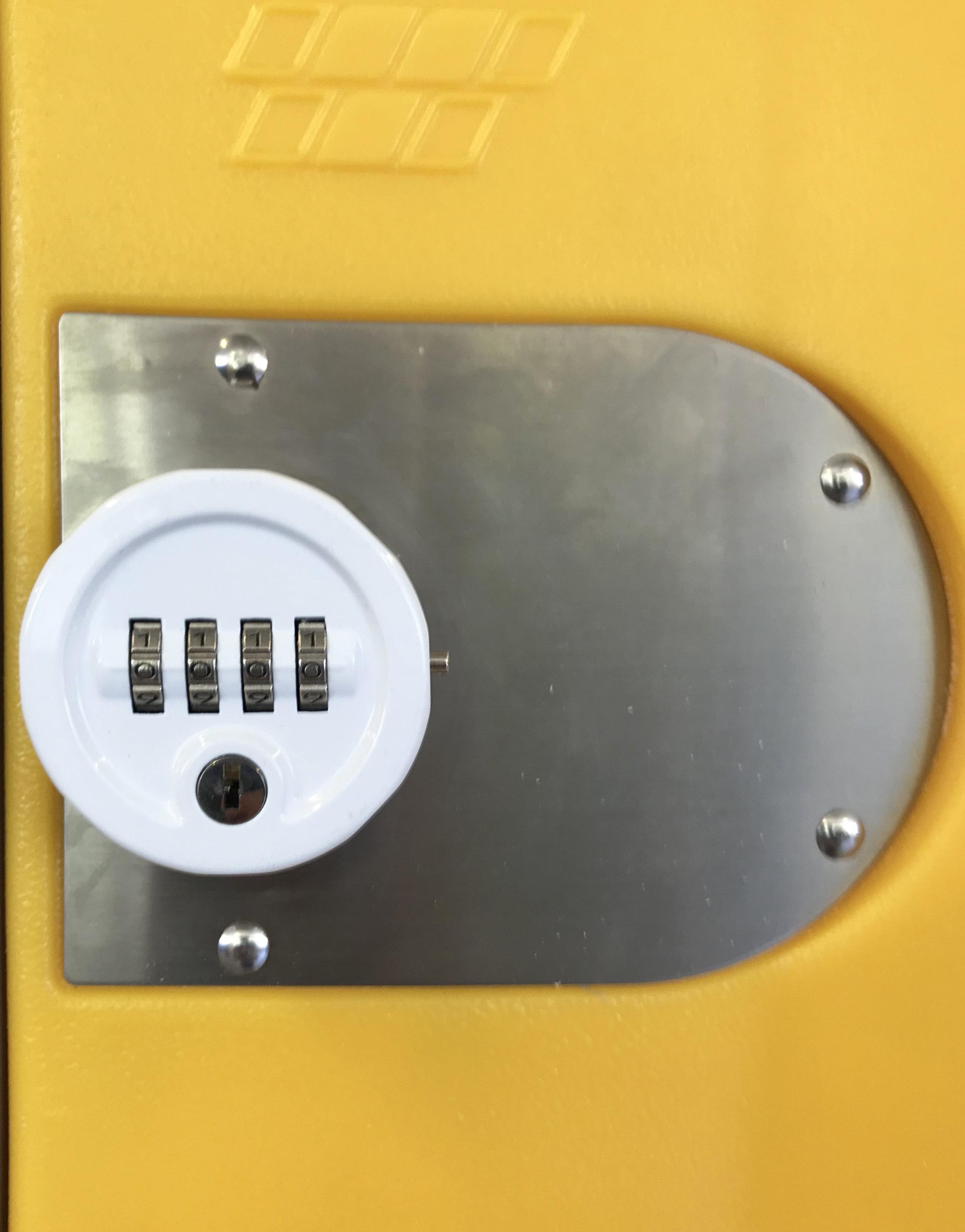 Round Combination lock