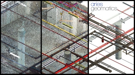 from point cloud to 3d modelling: NOTE THE DIFFERENCE?