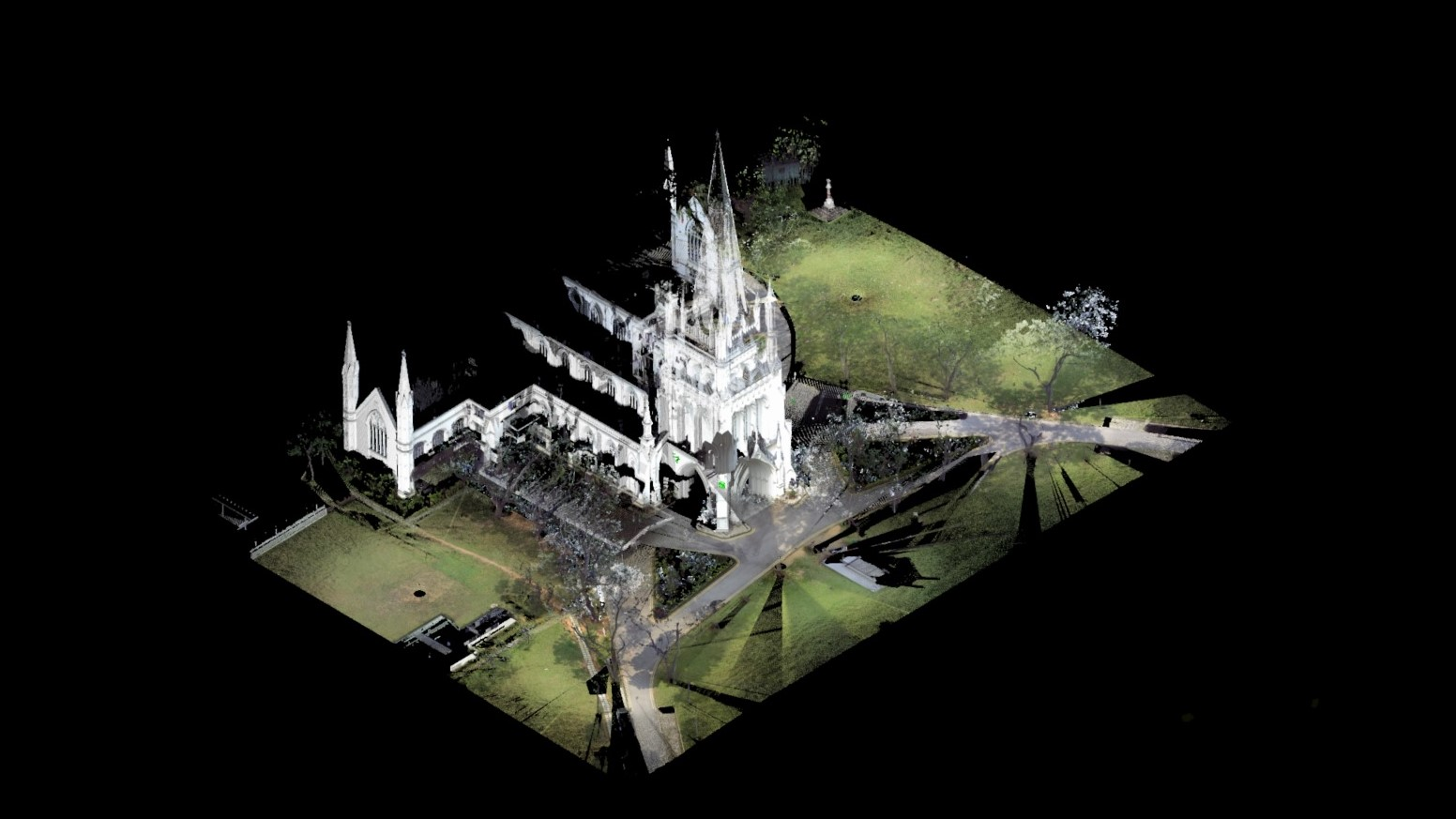 Point cloud of saint andrew's cathedral