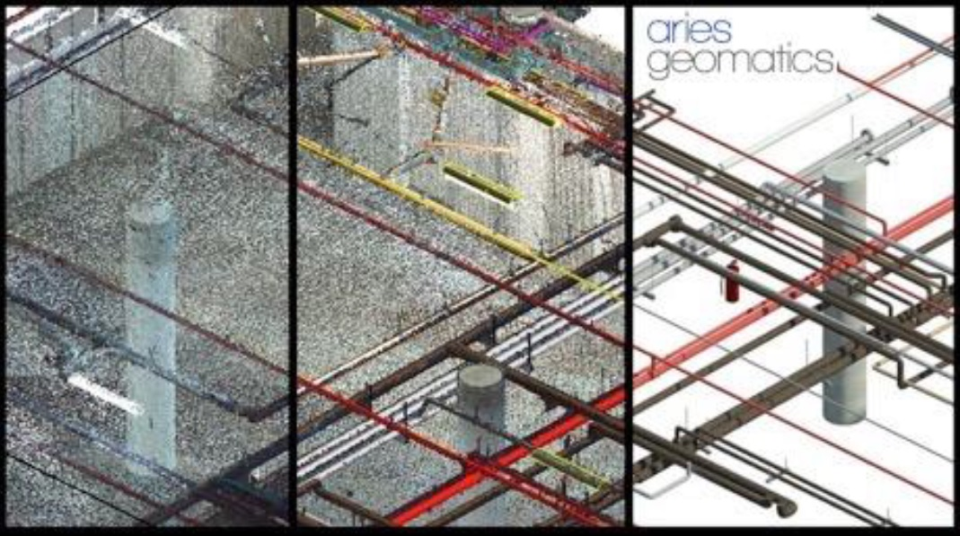 Scan to BIM - Transition from Point Cloud to 3D Model