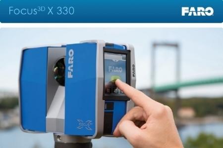 The authentic FARO Focus X330 3D Laser Scanner