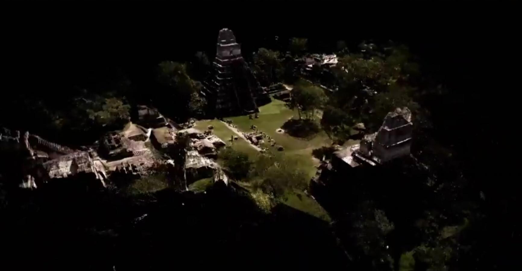 Tikal Point Cloud data