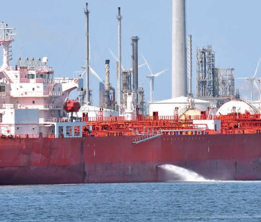 Vessel deballasting