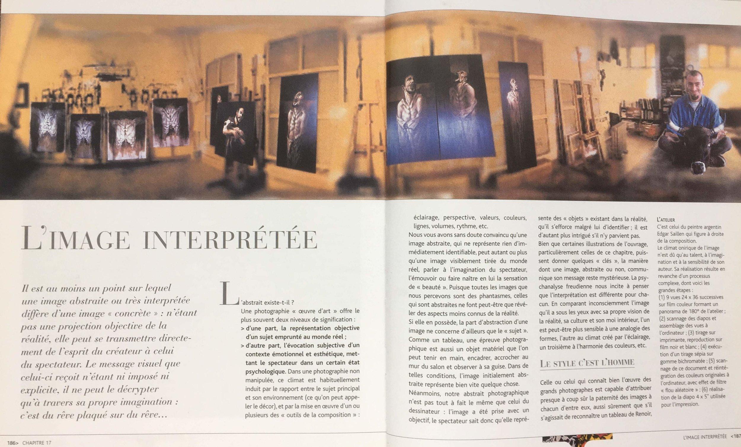 LE LANGAGE DE L'IMAGE de R. Bouillot et B. Martinez. Editions VM 2000