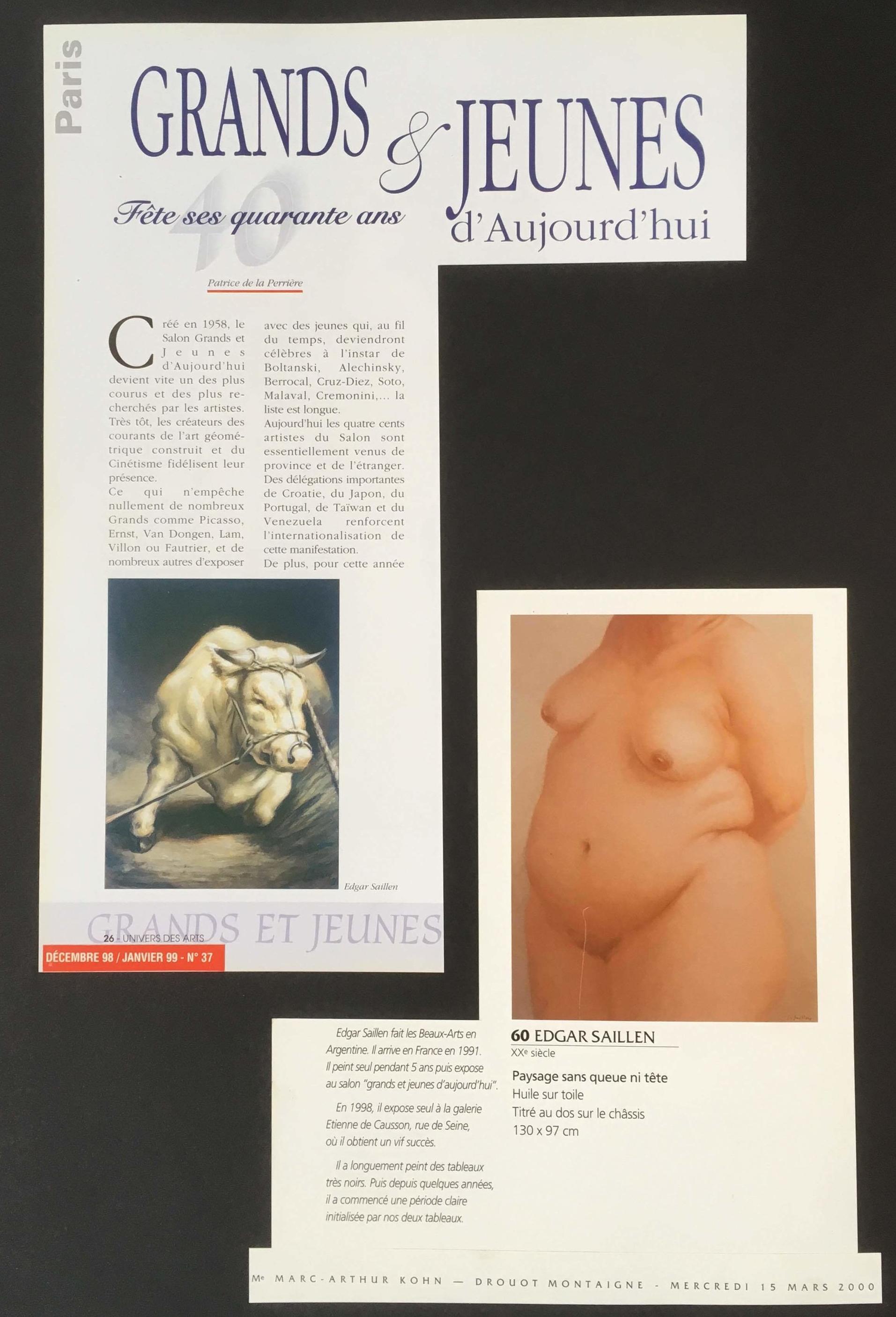 UNIVERS DES ARTS 1999