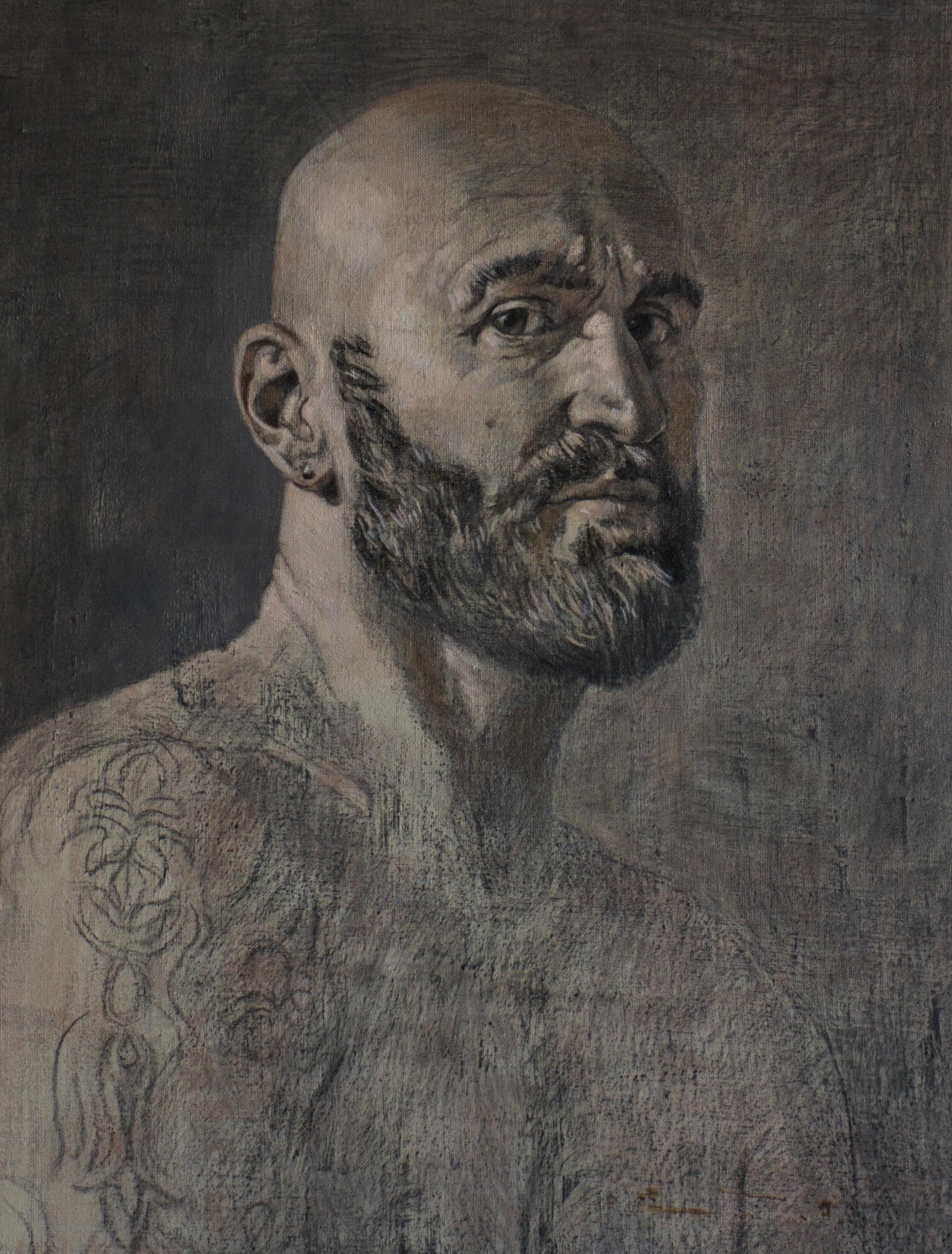 Portrait de l'écrivain  David Lelait-Helo