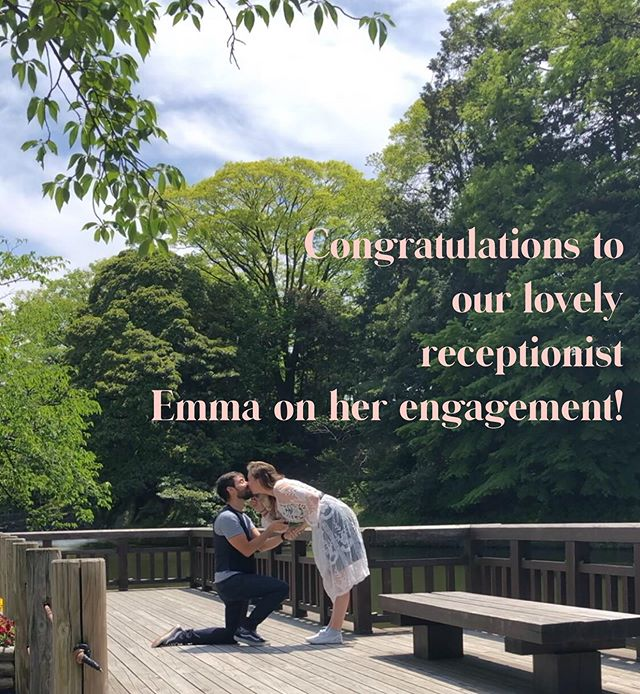 Congratulations!! We are so excited for you!  Xx