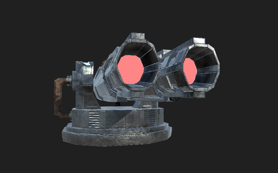 Starship Turret 2