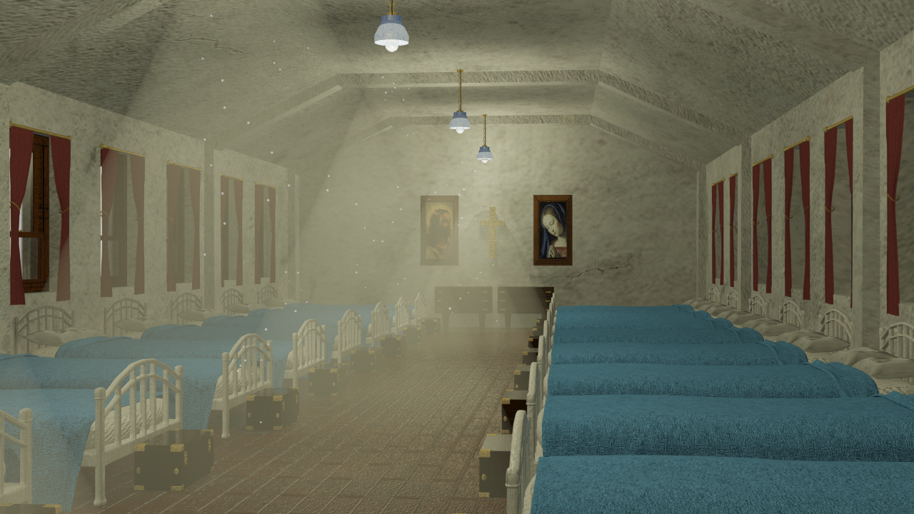 Orphanage Boarding Room