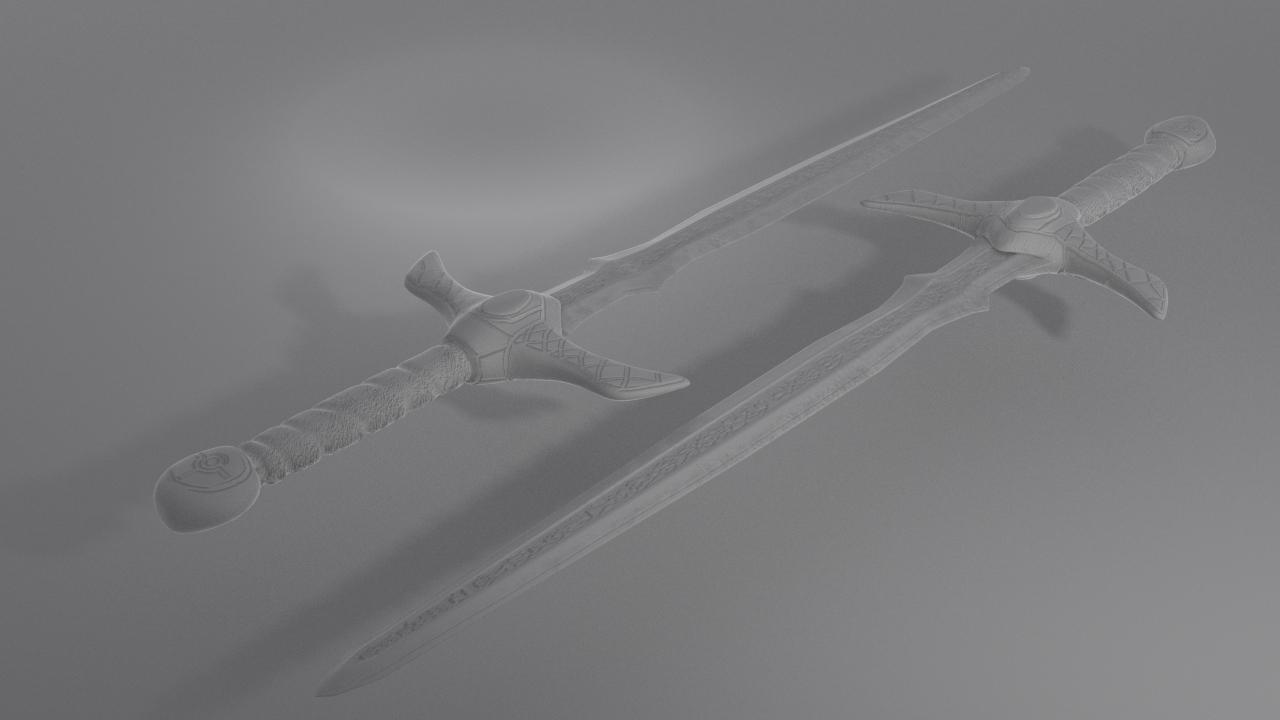Sword Clay