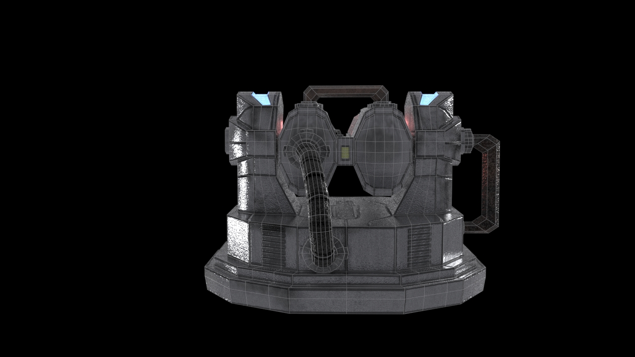 Turret Wireframe 2