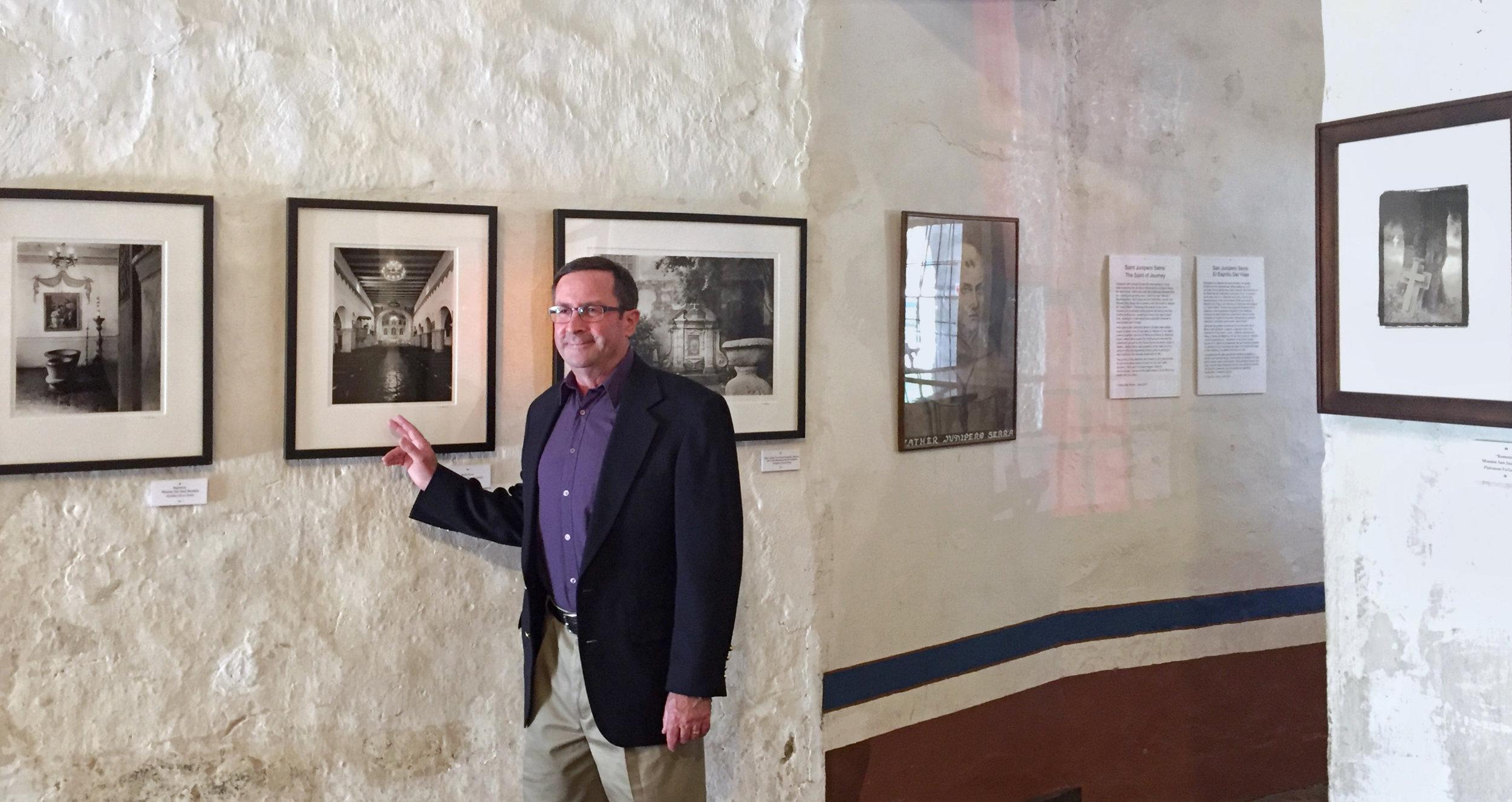 Craig Alan Huber, Mission San Juan Bautista